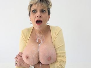 Shoot All Over My Humungous Cougar Porno Mammories