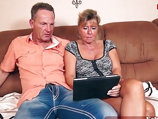 german mature home swinger party with housewifes