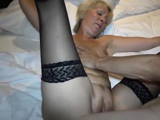 cum in the german mom