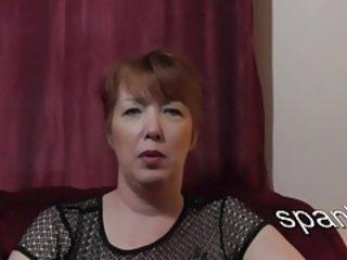 Spanker Lisa- crotchety small fry accost
