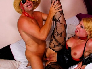 french blonde milf try first casting