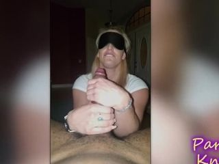 'Blindfolded And Surprised With Monster BBC '