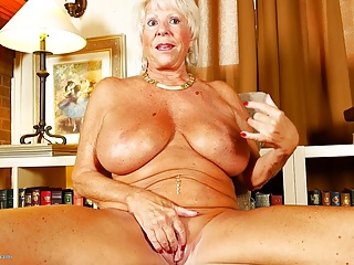Super GILF with big tits and sexy MILF