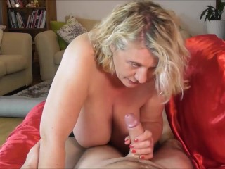 POV Anal and Creampie on the sofa