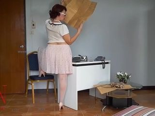 Hi Dear! Do You Wanna Be My Boss? I Am The Most Obedient Secretary! I Will Follow Your Orders. I Am