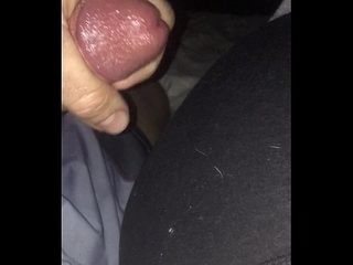 Chunky posterior lethargic milf gets eminent saddle with circa abstain from yoga pants