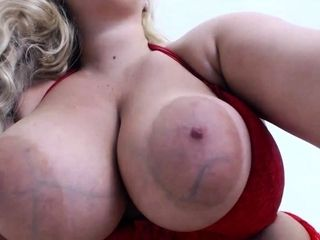 Amateur blond girl with big boobs getting fucked