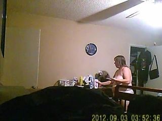 friends wife caught in room changing