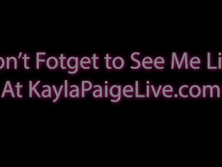 Lesbian Fest! Expert Pussy Pleaser Kayla Paige's Hottes Girl On Girl Shots!