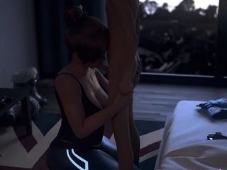 Animation Mei Game Overwatch Enjoys Sex Porn Collection