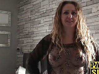 Filthy UK babe rough domination and vibrator penetration