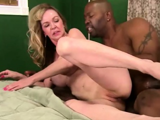 Mature Iris Gets A Black Stud Hard