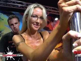 Emma Starr In Mature Hardcore Bukkake Gangbang