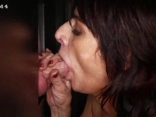 Gloryhole Secrets grown-up widely applicable gets on touching cum than she