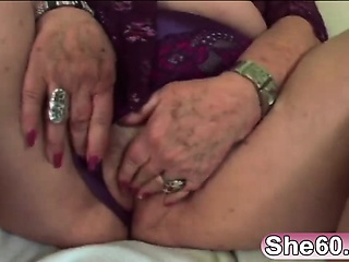 Chubby granny enjoys being fucked by younger cock
