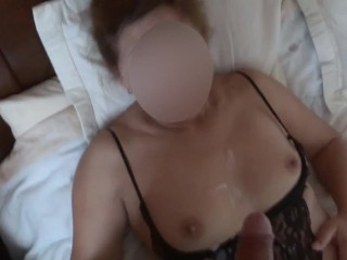 'CUMSHOTS IN WIFE'S HAIRY PUSSY, MATURE , MILK ASS, TITS AND FACE, STRAWS, BIG COCK'
