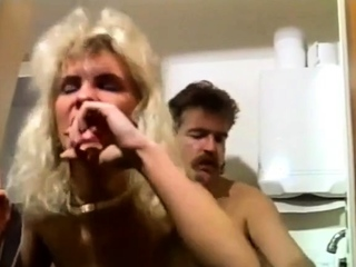 Hairy milf in stockings gets fucked