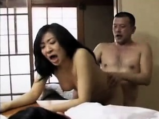 Japanese Wife Fucked On Table