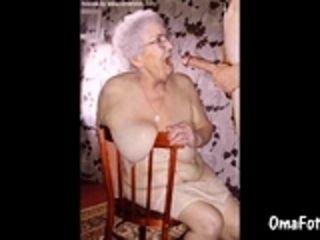 OmaFotzE ripsnorting Grandma Slideshow Compilation