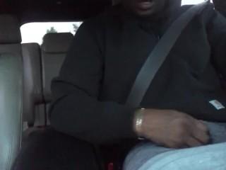 Needed to cum bad jacking through my underwear while driving