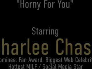 'Horny MILF Masturbating! Busty Charlee Chase's Hot Solo With Her Vibrator!'