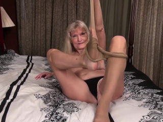 Skinny Mature and blonde mature with big boobs