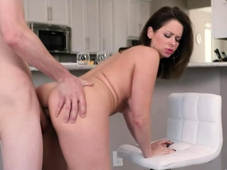 Due to my dad cheating so i can fuck my busty stepmom easily