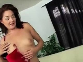 Sexy Mature Brunette Does Solo