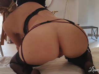 'Shared slut wife fuck with stranger cum in pussy cuckold husband filming'