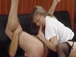 Hot German Mature Lady Fucked by Older Guy
