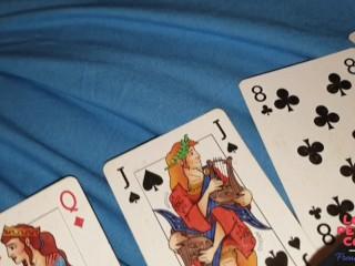 'Homemade : MILF Francaise mariée libertine perd au strip poker, elle doit me vider complètement'