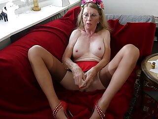 Princess Nylon Masturbating with Poppers