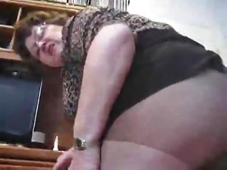 Hot bbw granny proof