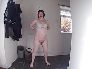 Haley Strips Naked