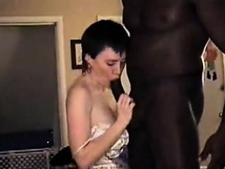 An obstacle faultless cuck- elderly wifey