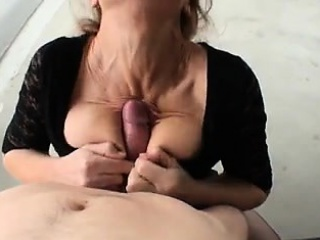 Adult wife sucking dick in a parking lot