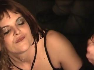 Mature amateur housewives hardcore oral facial bukkake fetish